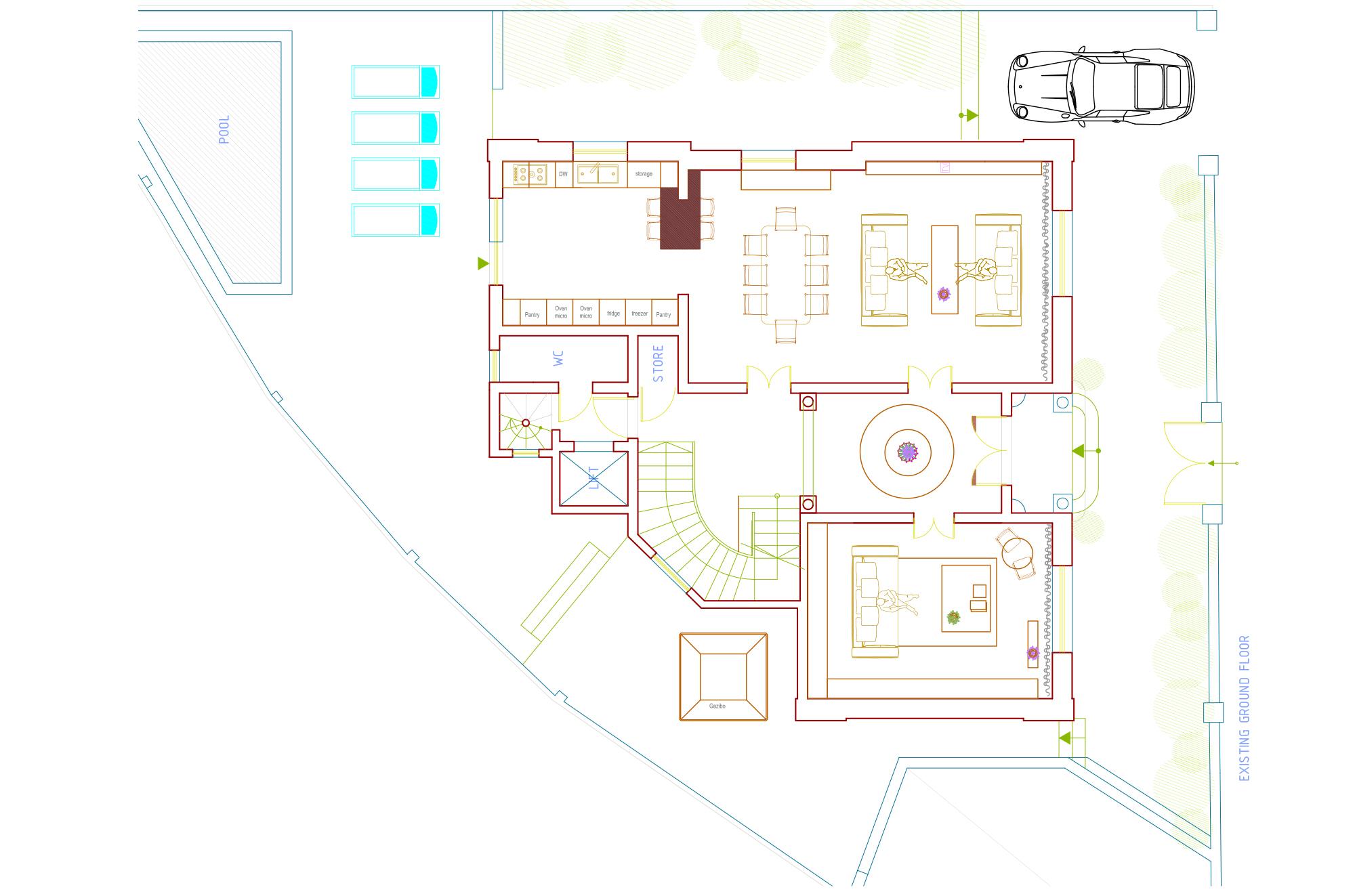 Attard villa plan