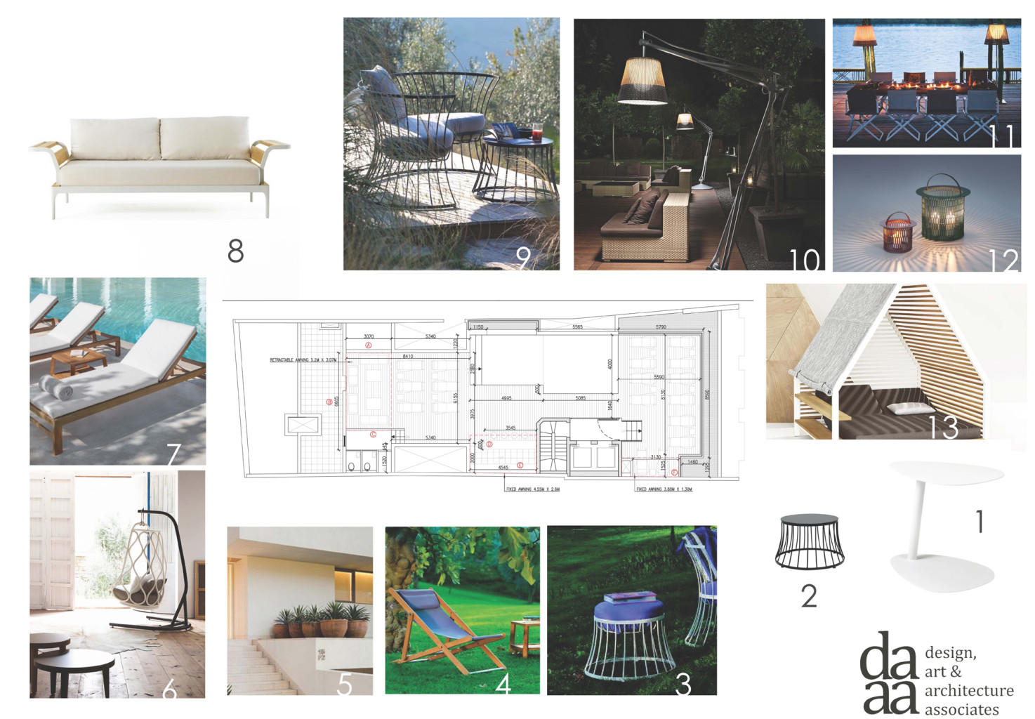 Hotel juliani concept board 1