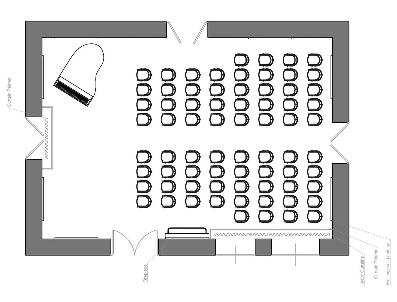 San Anton Palace plan