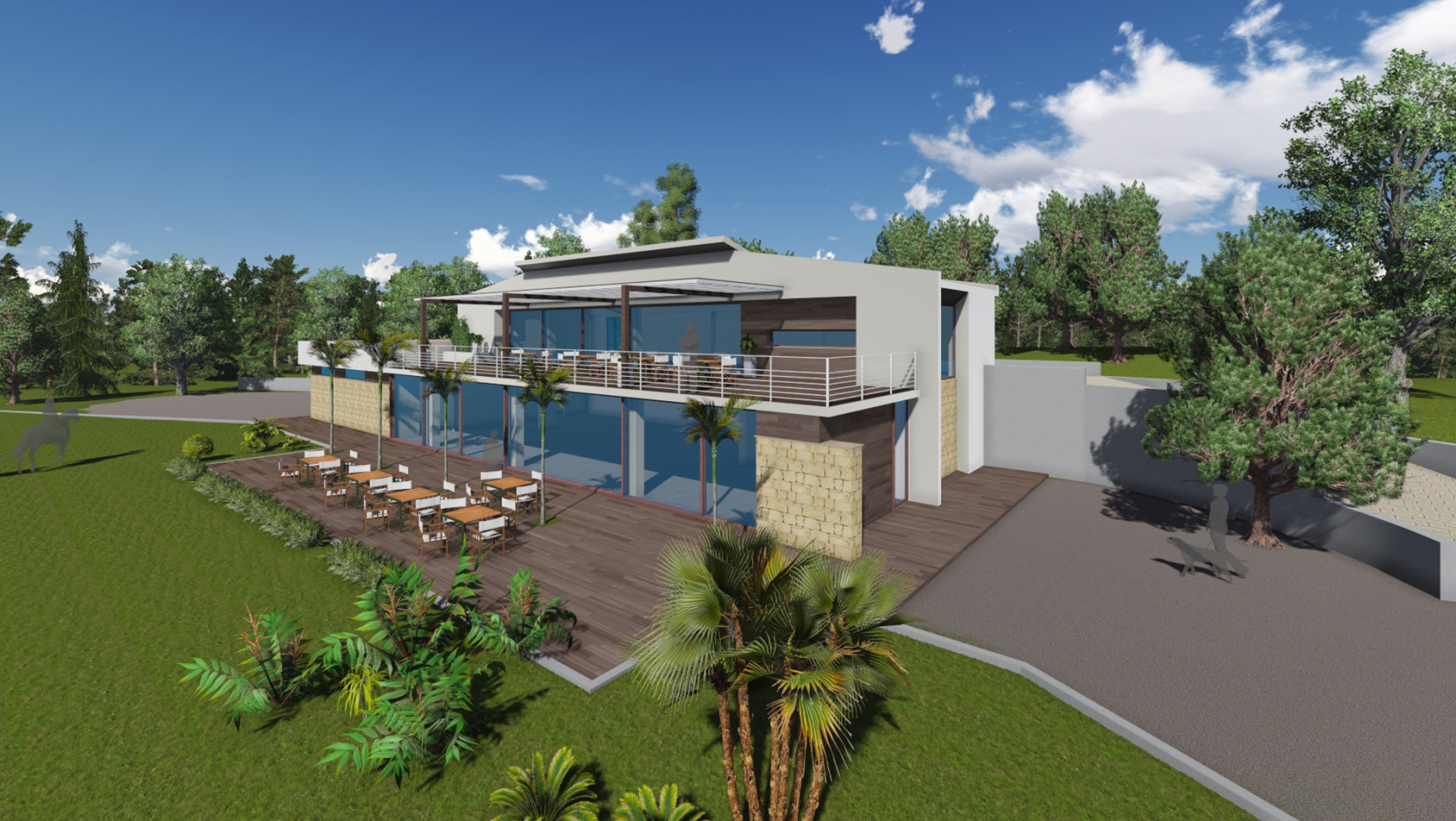 Vullo Estates - Clubhouse-Giarrizzo render 4