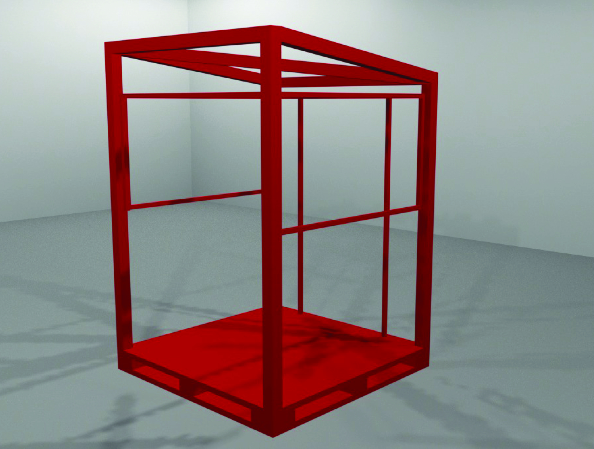 cm stand 3D render 2
