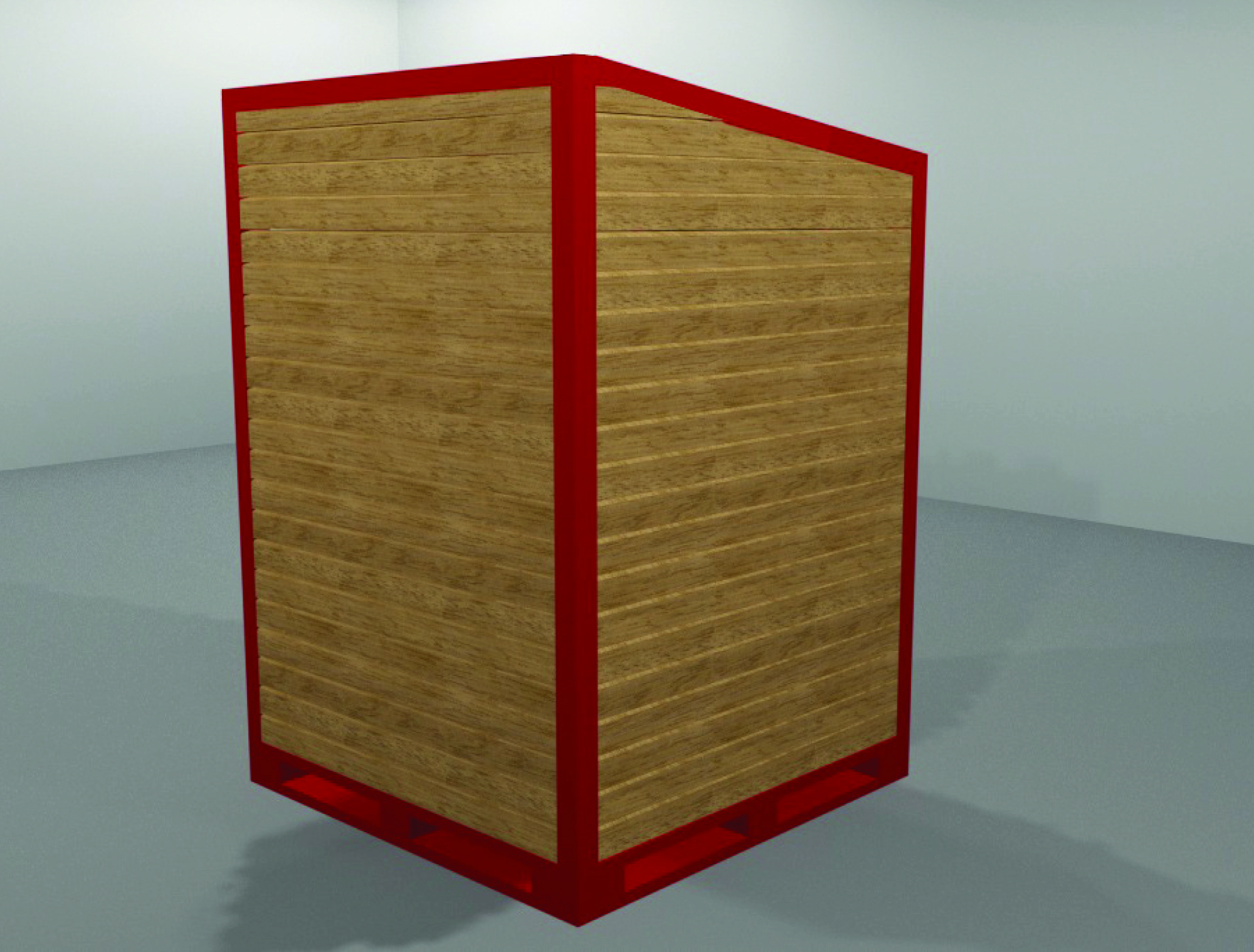 cm stand 3D render 4