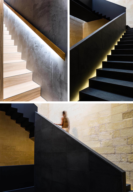 macina finished stairs