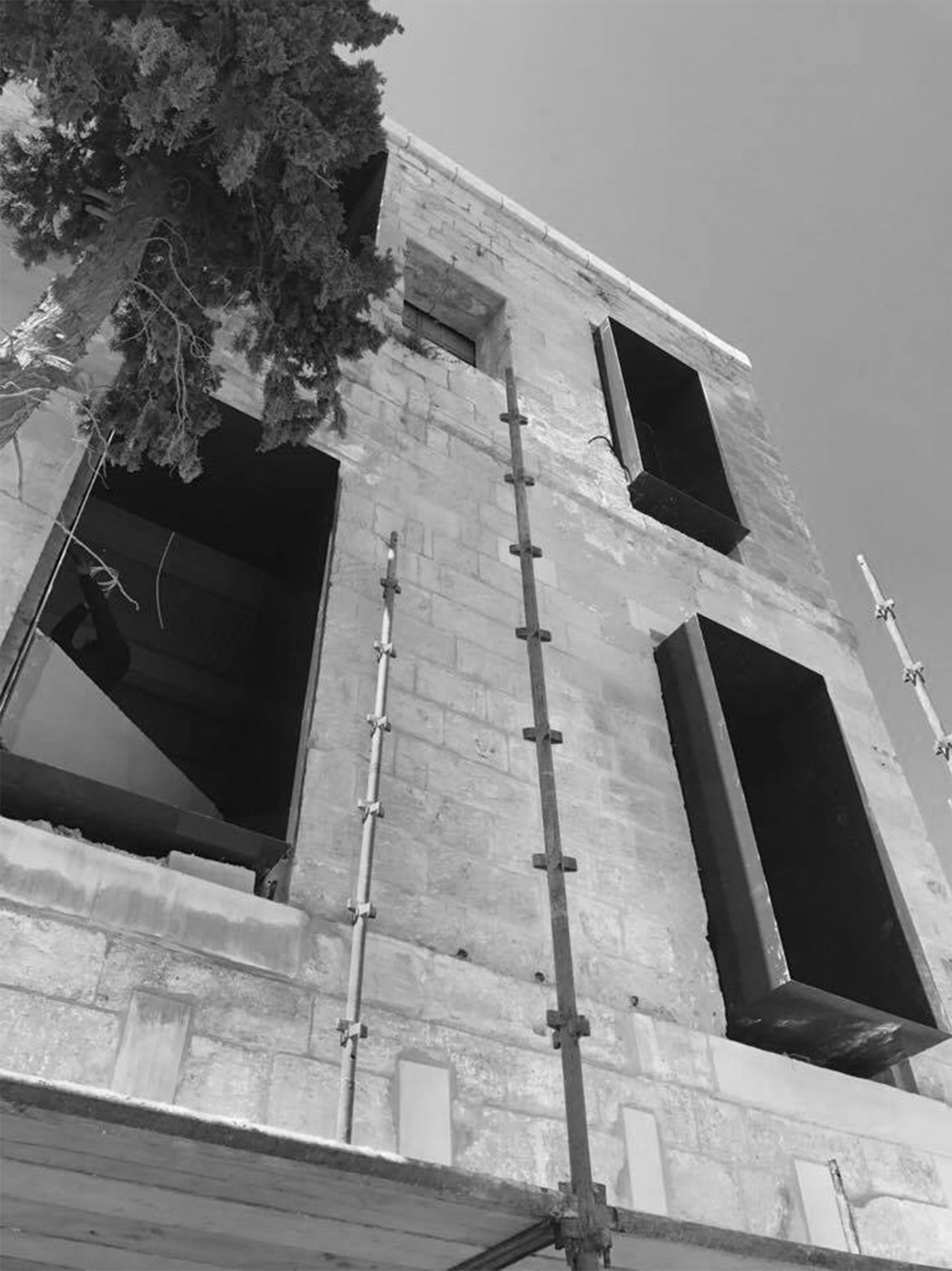 macina progress window b&w