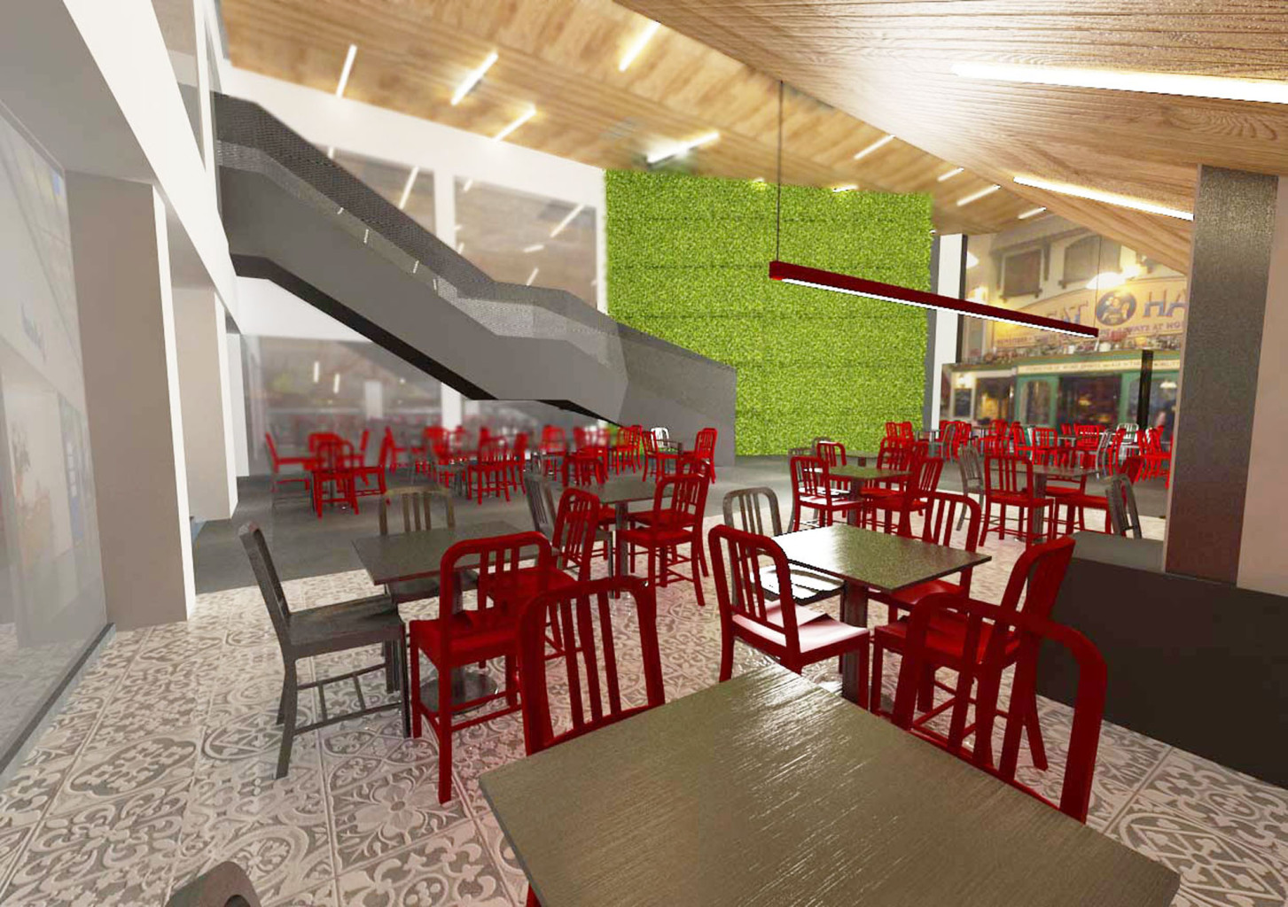 mia food court malta render 3