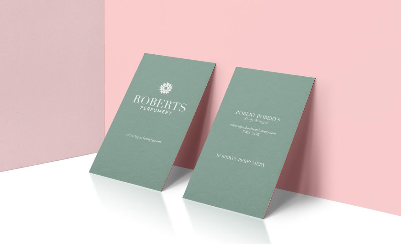 roberts perfumery branding 3