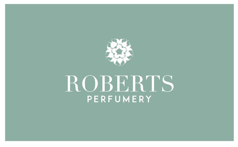 roberts perfumery branding
